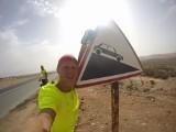 Chciał tylko do Maroka... Teraz na rowerze okrąża Afrykę [ZDJĘCIA]