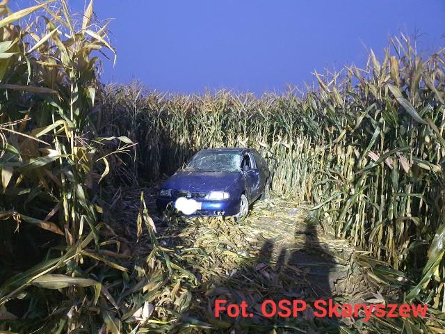 Do wypadku doszło kilka minut po godzinie 6. rano. Jedna osoba została ranna.