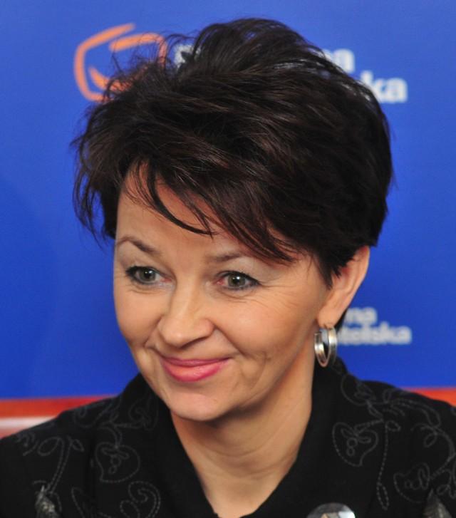 Iwona Kozłowska czuje się potraktowana niekulturalnie przez swoją partię.