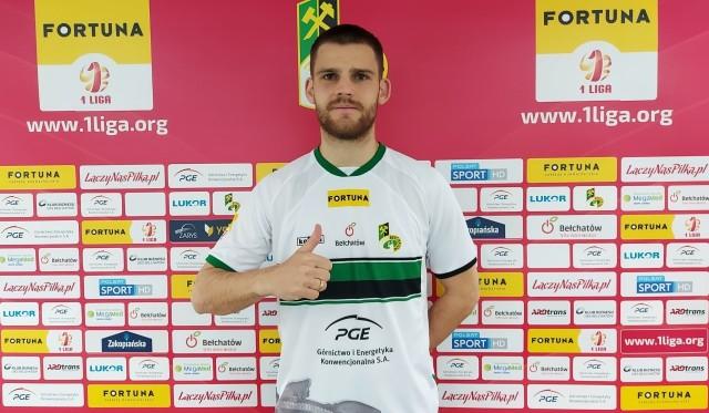 Napastnik z Łotwy graczem GKS Bełchatów