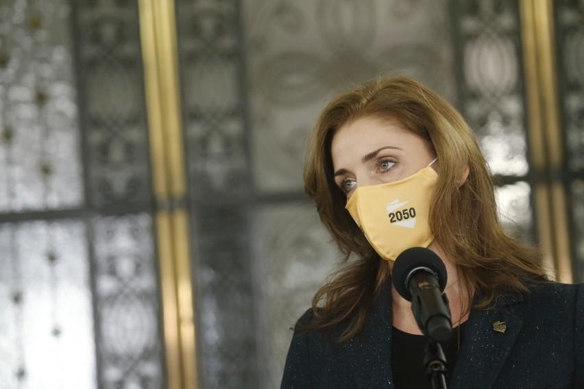Posłanka Joanna Mucha na temat Polskiego Ładu: jest tam jeden słuszny komponent