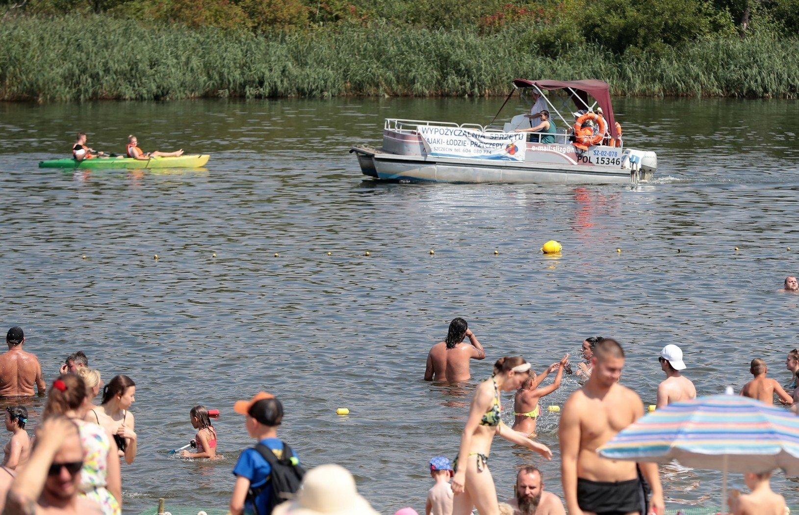 Weekend na kąpieliskach w Szczecinie. ZDJĘCIA z Dziewoklicza   Głos Szczeciński