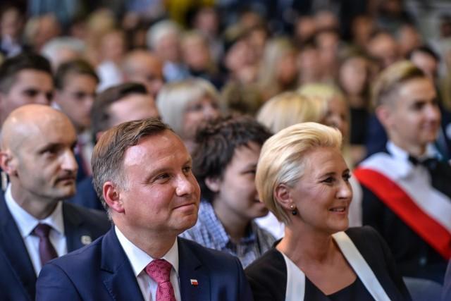 Wizyta Prezydenta RP Andrzeja Dudy w III LO w Gdyni
