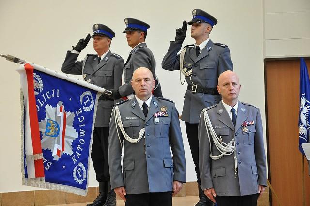 Święto Policji: uroczysta zbiórka w Szkole Policji w Katowicach