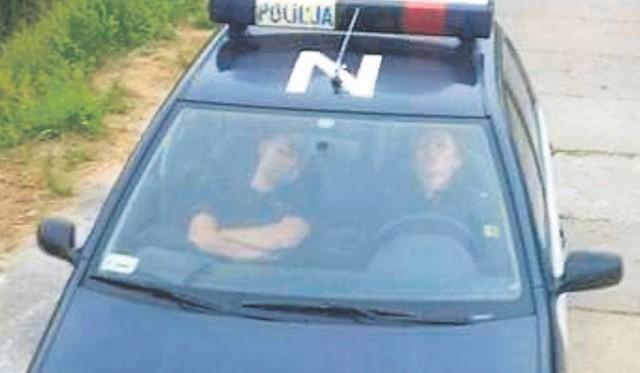 Na zdjęciu: miastecka policjantka Kamila K.