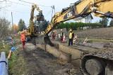 Siercza. Przebudują drogę oraz wybudują kanalizację. Kierowców przez wiele miesięcy czekają spore utrudnienia [ZDJĘCIA]