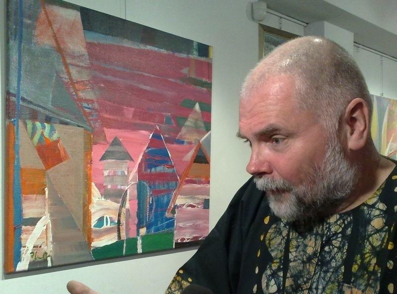 Kolorowo w galerii: Wojciech Plust wystawia w Pro Arte