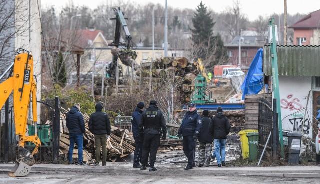 Do eksmisji tartaku doszło w połowie grudnia 2018 roku.