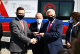 Wysłużona, ale dobrze utrzymana i świetnie wyposażona kartka zasili flotę pojazdów transportu medycznego w Uzdrowisku Busko-Zdrój
