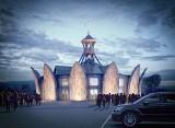 Wyjątkowy, okrągły kościół powstaje pod Krakowem. Elewacja nawiązuje do 12 apostołów [ZDJĘCIA]