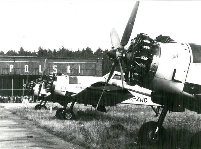 Zobacz podopolskie lotnisko na archiwalnych fotografiach.
