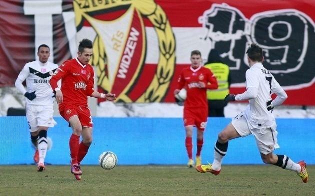 Mariusz Rybicki  nie zaliczy meczu z Zagłębiem Lubin do udanych
