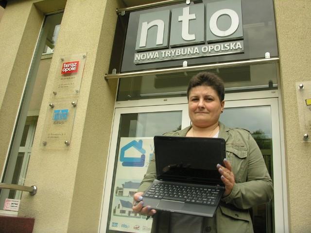 Laptop dostanie mój osiemnastoletni syn Szymon - mówi Izabela Szmagra z Opola. - Już się nie może go doczekać.