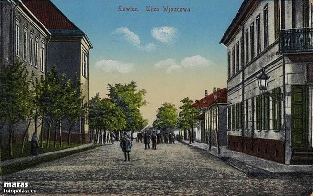 Ulica 3 Maja w Łowiczu niegdyś zwała się Wjazdową