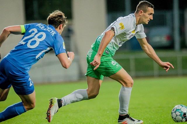 Damian Jakubik, strzelec gola dla Radomiaka.