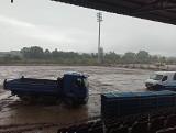 Na stadionie Sandecji jest już miejsce pod płytę boiska! Trawa rośnie… na Węgrzech [ZDJĘCIA]