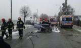 Maków: groźny wypadek na Warszawskiej [ZDJĘCIA]
