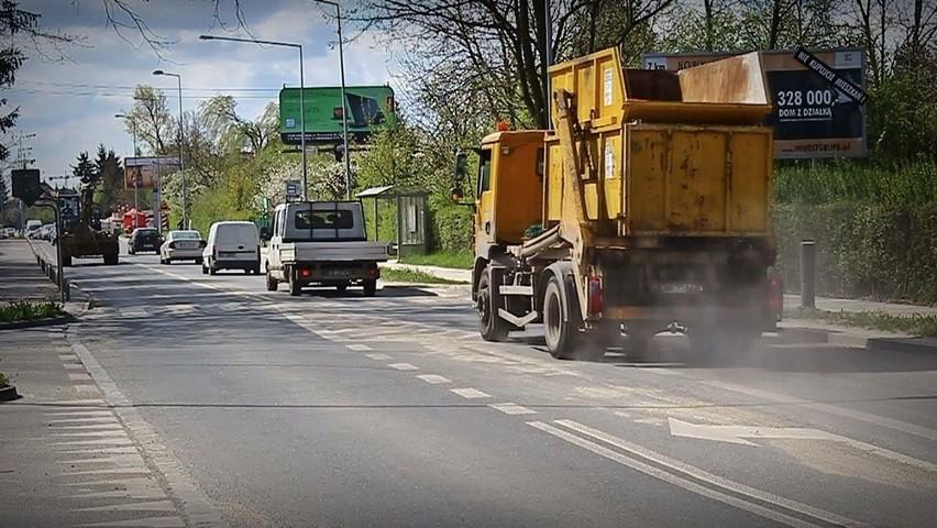 Nielegalna betoniarnia kurzy na Borowskiej. Inwestor nawet o niej nie wie