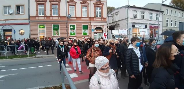 Protest kobiet w Koszalinie