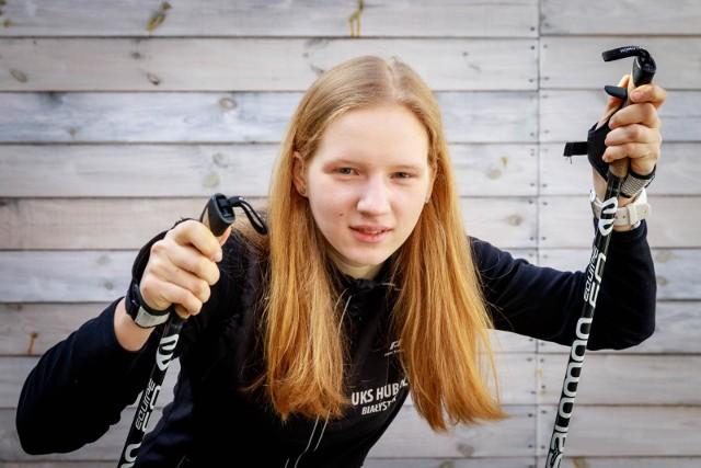 Hanna Popko - najlepsza w Polsce narciarka w kategorii młodzika