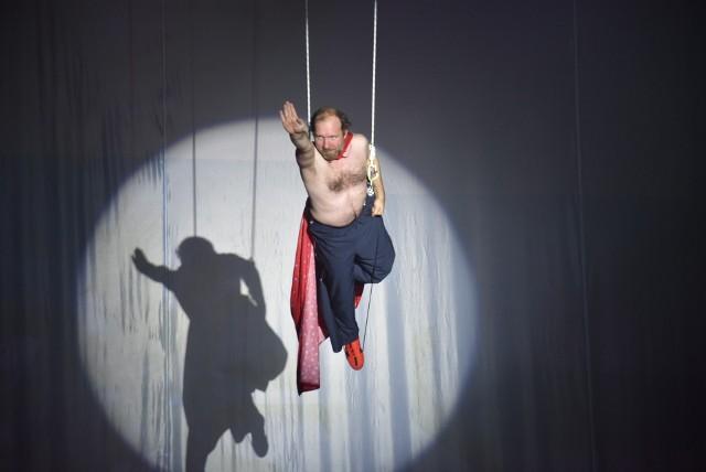 Próba spektaklu Wilq Superbohater