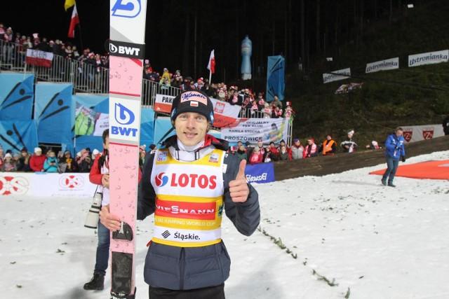 Dawid Kubacki osiągnął najlepszy wynik w karierze