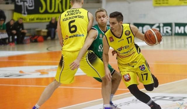 Koszykarzy Sokoła Łańcut czeka trudne zadanie