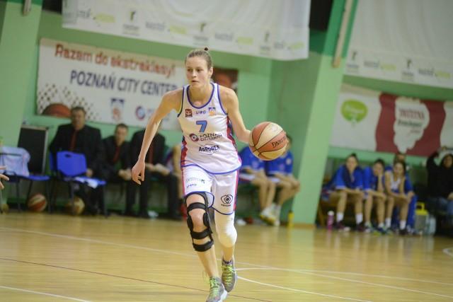 Karolina Budeń jest ostatnio mocnym punktem Enei AZS w pierwszoligowych meczach