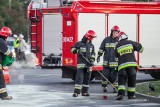 Stryszek pod Bydgoszczą: kierowca osobówki wylądował na poboczu