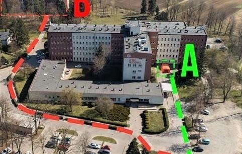 Modernizacja obejmie oddziały znajdujące się w budynku głównym szpitala