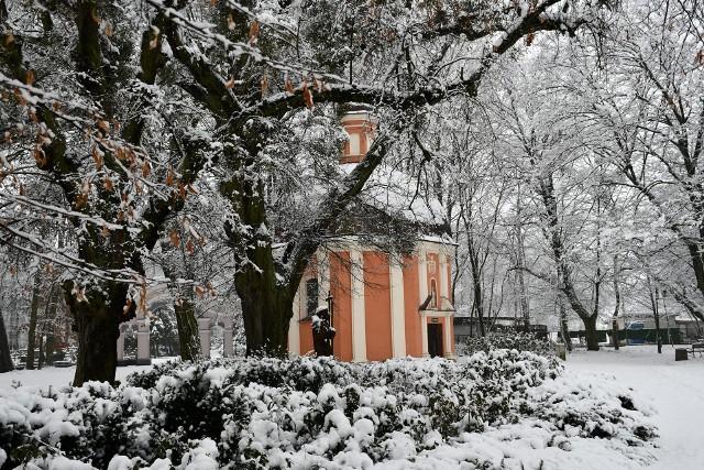 Kalwaria Pakoska zimą