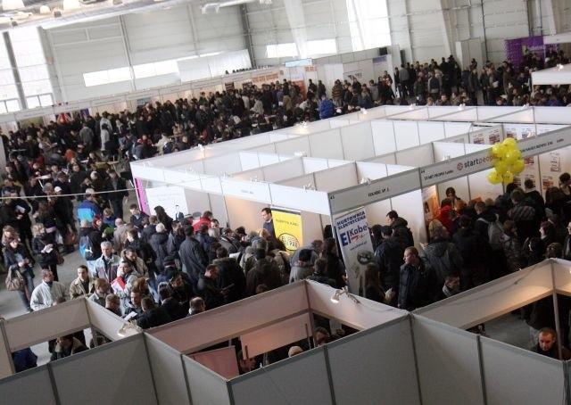 Międzynarodowe Targi Pracy, które odbyły sie w Lublinie w marcu, odwiedziło tysiące osób