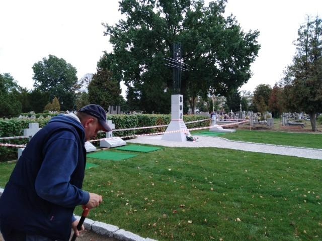 Kwatera Żołnierzy Wyklętych na cmentarzu