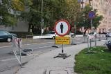 Przebudowa i korki na ulicy Rysiej. Co się tam dzieje? [ZDJĘCIA]