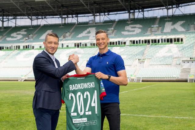 Kacper Radkowski wybrał Śląsk Wrocław (Śląsk Wrocław transfery lato 2021)