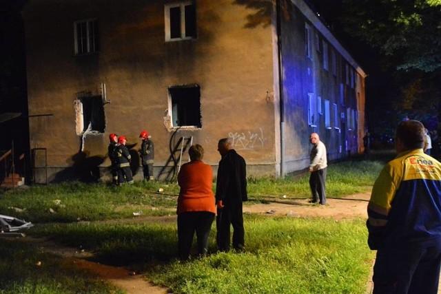 Wybuch gazu w Poznaniu: Na Sołaczu ewakuowano dziesięć osób. Trzy osoby w szpitalu