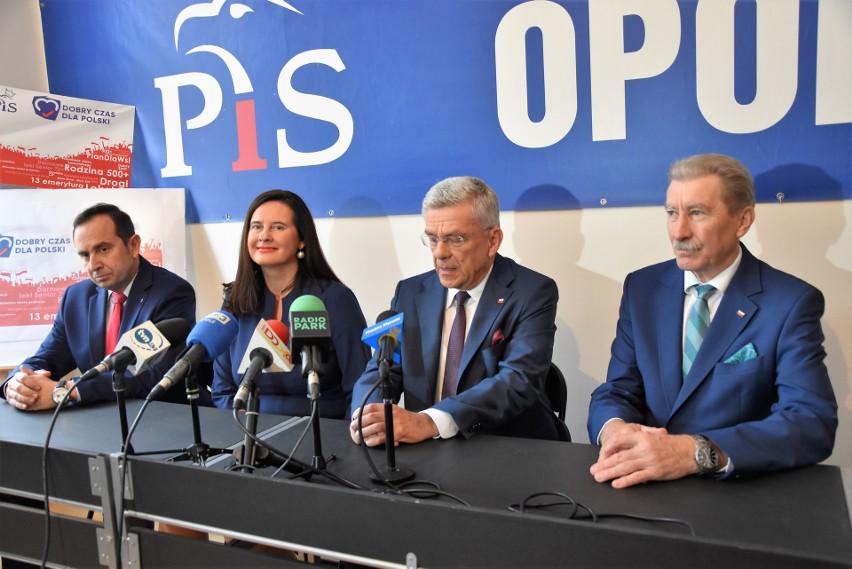 Stanisław Karczewski, marszałek Senatu, zachęca do głosowania na kandydatów PiS w wyborach parlamentarnych 2019