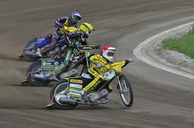 Żużlowcy PSŻ Spechouse Poznań pewni wygranej nad Stalą Rzeszów byli już po trzynastu wyścigach