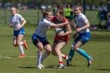 Rugbystki Juvenii na turnieju w Krakowie wywalczyły awans do Ekstraligi w odmianie 7-osobowej [ZDJĘCIA]
