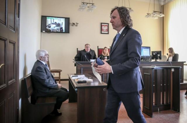 Przed sądem zeznawał Jacek Karnowski