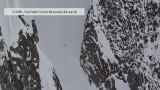 Narciarka przeżyła upadek z ponad 300 metrów [wideo]