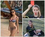 Życzenia pięknej sędzi piłkarskiej, krakowianki Karoliny Bojar nie tylko dla swego najukochańszego narzeczonego [ZDJĘCIA I WIDEO]