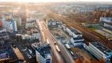 Sosnowiec jesienią: zdjęcia z drona. Zobaczcie, jak pieknie miasto wygląda z góry w jesiennym słońcu