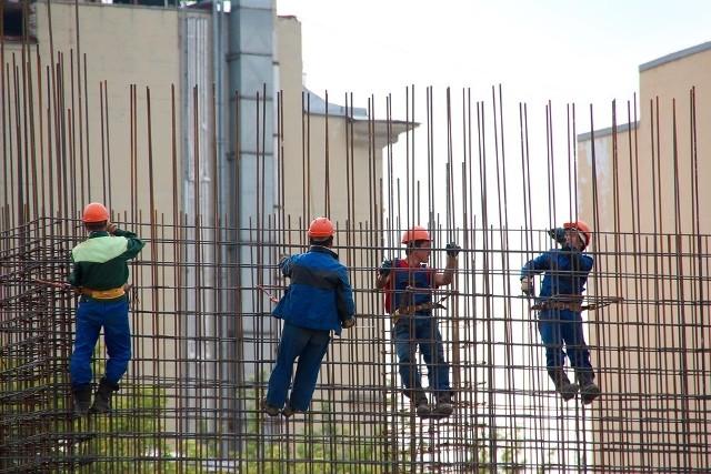Pracownicy z Ukrainy pracują m.in. na budowach