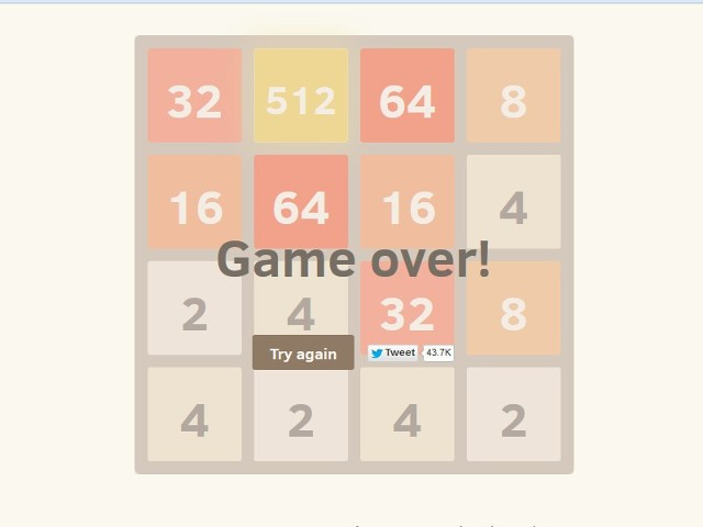 2048 to prosta gra logiczna. Polega na przesuwaniu kwadratów w taki sposób, aby uzyskać pole z tytułową liczbą – 2048. Uwaga. Gra bardzo wciąga. ZAGRAJ w 2048.