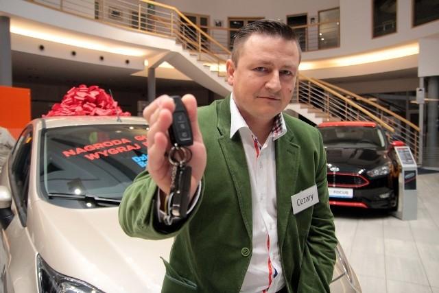 Fora Fiestę o wartości 57 000 złotych w naszym konkursie wygrał Cezary Kłosiński z Gdańska.