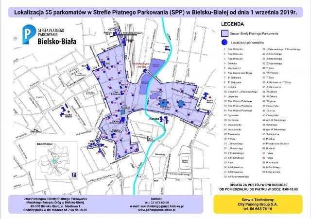 Strefa Płatnego Parkowania w Bielsku-Białej