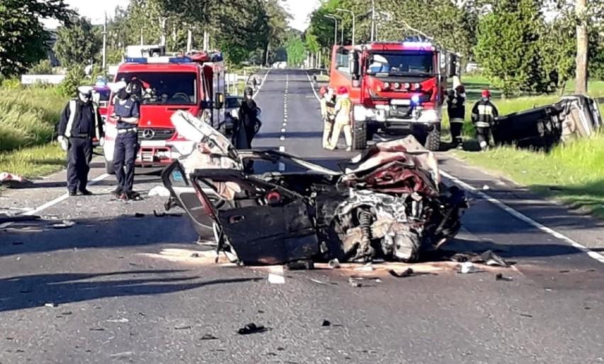 Wypadek między Rokocinem a Sucuminem 31.05.2020....