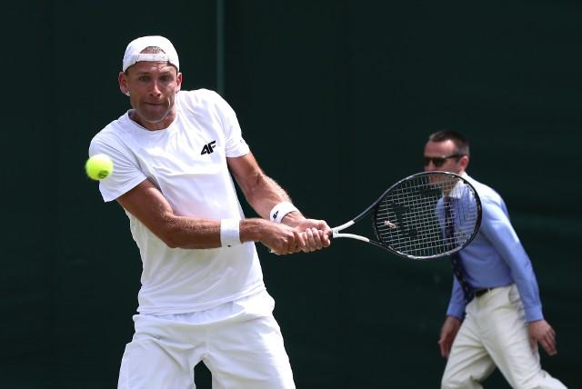 Łukasz Kubot ma w dorobku dwa wielkoszlemowe tytuły - wygrał w deblu Australian Open i Wimbledon