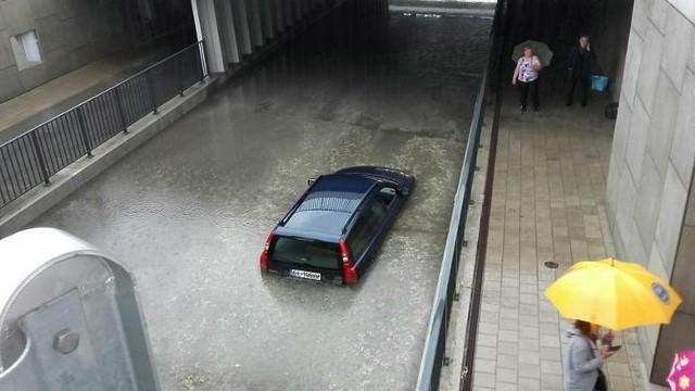 Tunel na ul. Niciarnianej